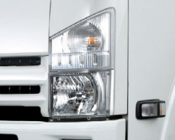 xe tải isuzu 3,5 tấn cụm đèn pha trước