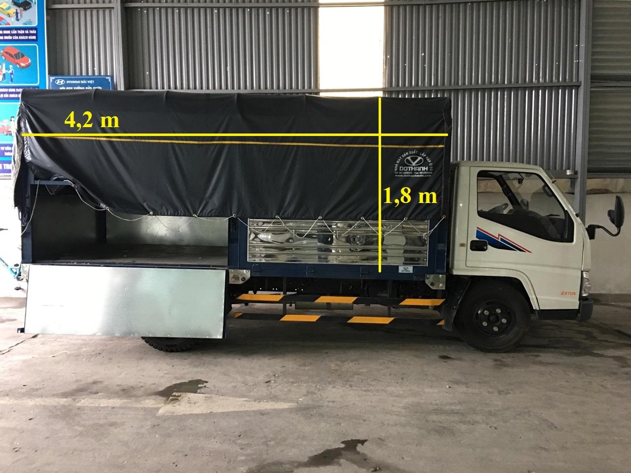 xe tải 2,15 tấn iz49 hyundai đô thành