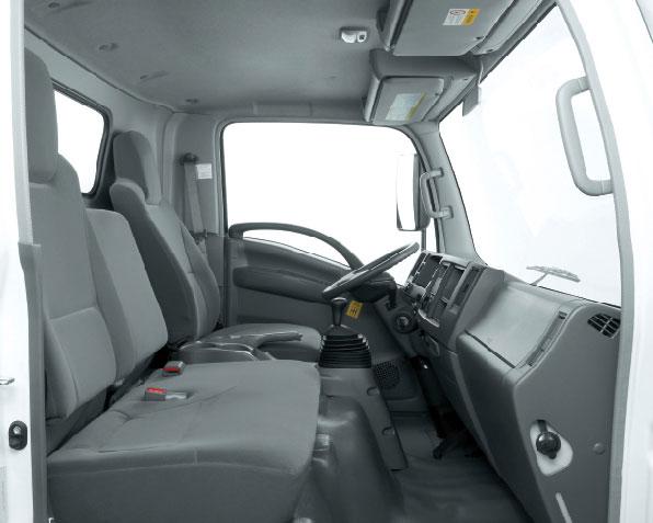 xe tải isuzu 6,5 tấn nâng tải nqr75m-16 cabin rộng rãi