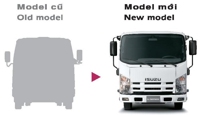 xe tải isuzu 6,5 tấn nâng tải nqr75m-16 kích thước cabin lớn