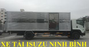 xe tải isuzu ninh bình bán xe tải isuzu 8,7 tấn thùng kin