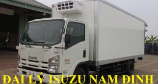 đại lý isuzu nam định bán xe tải isuzu 5 tấn thùng đông lạnh