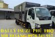 đại lý isuzu phú thọ bán xe tải isuzu 1,9 tấn thùng kín