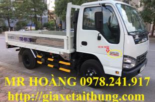 xe tải isuzu 2,4 tấn qkr77fe4 bộ tem cánh cửa mới