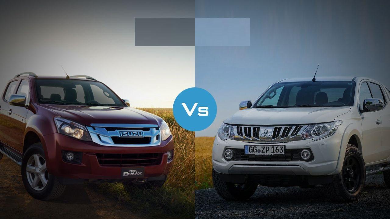 So sánh xe bán tải Dmax và Triton phiên bản 2.5 – 2 wd