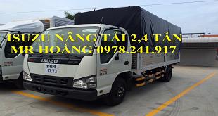 So sánh Xe tải Isuzu 2,4 tấn nâng tải QKR55F và xe tải 2,4 tấn Trường Hải KIA K165S