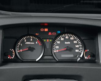 xe tải isuzu 6,5 tấn nâng tải nqr75m-16 bảng đồng hồ táp lô