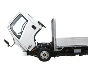 xe tải isuzu 6,5 tấn nâng tải nqr75m-16 cabin lật