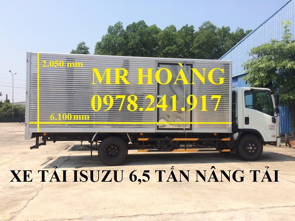 So sánh xe tải isuzu 6,5 tấn nâng tải NQR75M-16 và xe tải 6,4 tấn hyundai