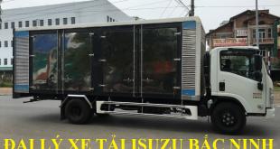 đại lý xe tải isuzu tại bắc ninh, xe tải isuzu 5 tấn thùng kín chở pallet