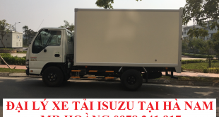 đại lý xe tải isuzu tại hà nam, xe tải isuzu 2,5 tấn thùng kín
