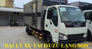 đại lý xe tải isuzu tại lạng sơn bán xe tải isuzu 2,2 tấn thùng kín