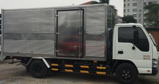 đại lý xe tải isuzu tại phú thọ bán xe tải isuzu 2,9 tấn thùng kín