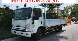 đại lý xe tải isuzu tại quảng ninh, xe tải isuzu 3,5 tấn thùng lửng