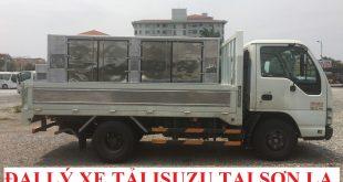 đại lý xe tải isuzu tại sơn la bán xe tải isuzu 1,1 tấn thùng lửng