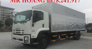 đại lý xe tải isuzu tại thái nguyên, xe tải isuzu 9 tấn thùng kín 1