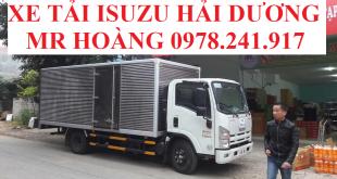 xe tải isuzu hải dương, xe tải isuzu 3,5 tấn thùng kín
