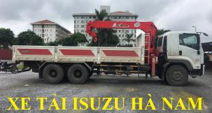 xe tải isuzu hà nam bán xe tải isuzu 15 tấn lắp cẩu unic tự hành
