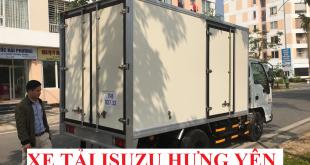 xe tải isuzu hưng yên, xe tải isuzu 2,5 tấn thùng kín composite