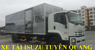 xe tải isuzu tuyên quang bán xe tải isuzu 8,7 tấn thùng kín