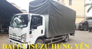 đại lý isuzu hưng yên bán xe tải isuzu 3,5 tấn thùng chở xe máy xe đạp điện 2 tầng