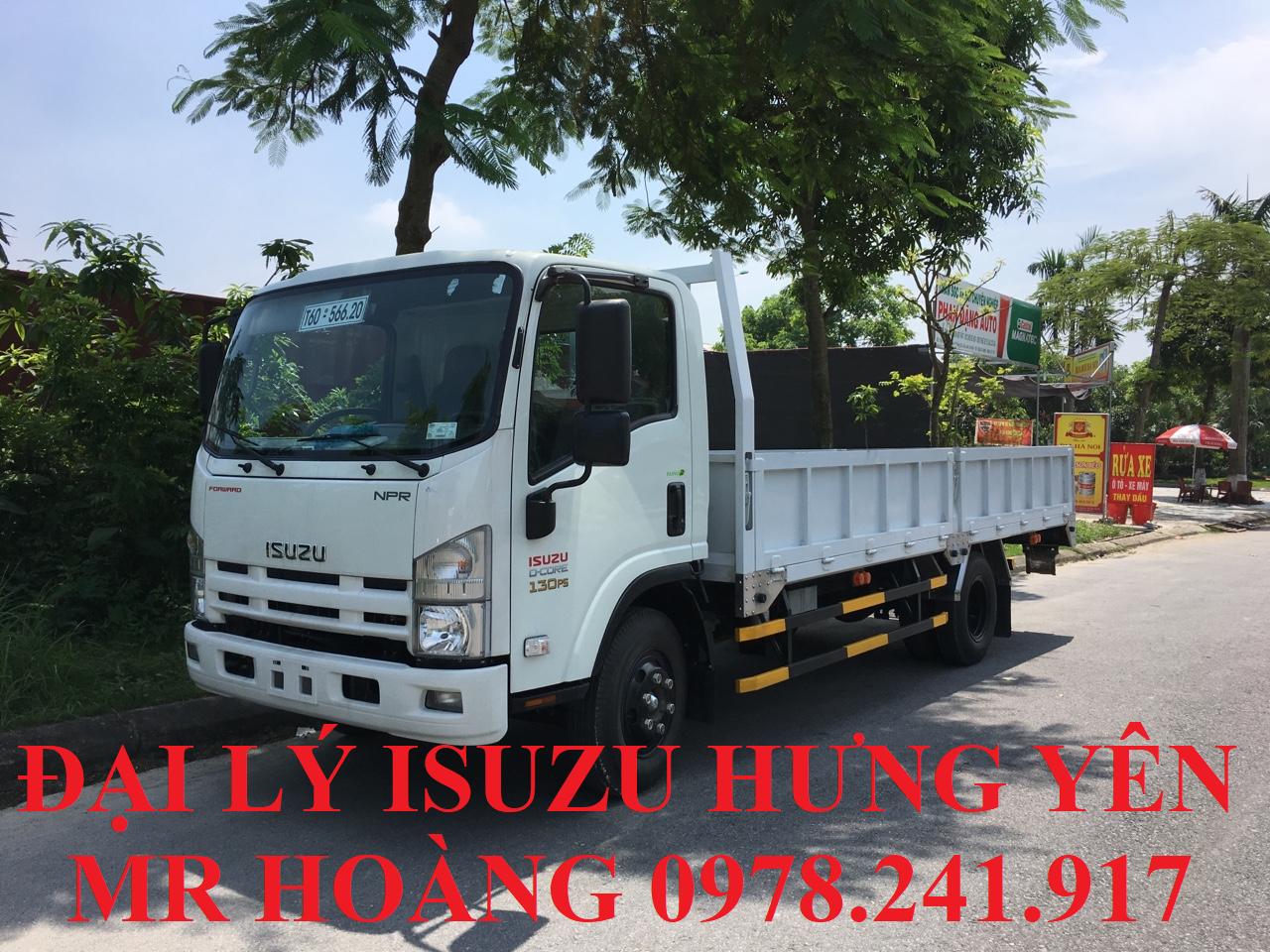 đại lý isuzu hưng yên bán xe tải isuzu 3,5 tấn thùng lửng