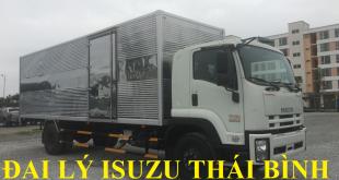 đại lý isuzu thái bình bán xe tải isuzu 8 tấn thùng kín