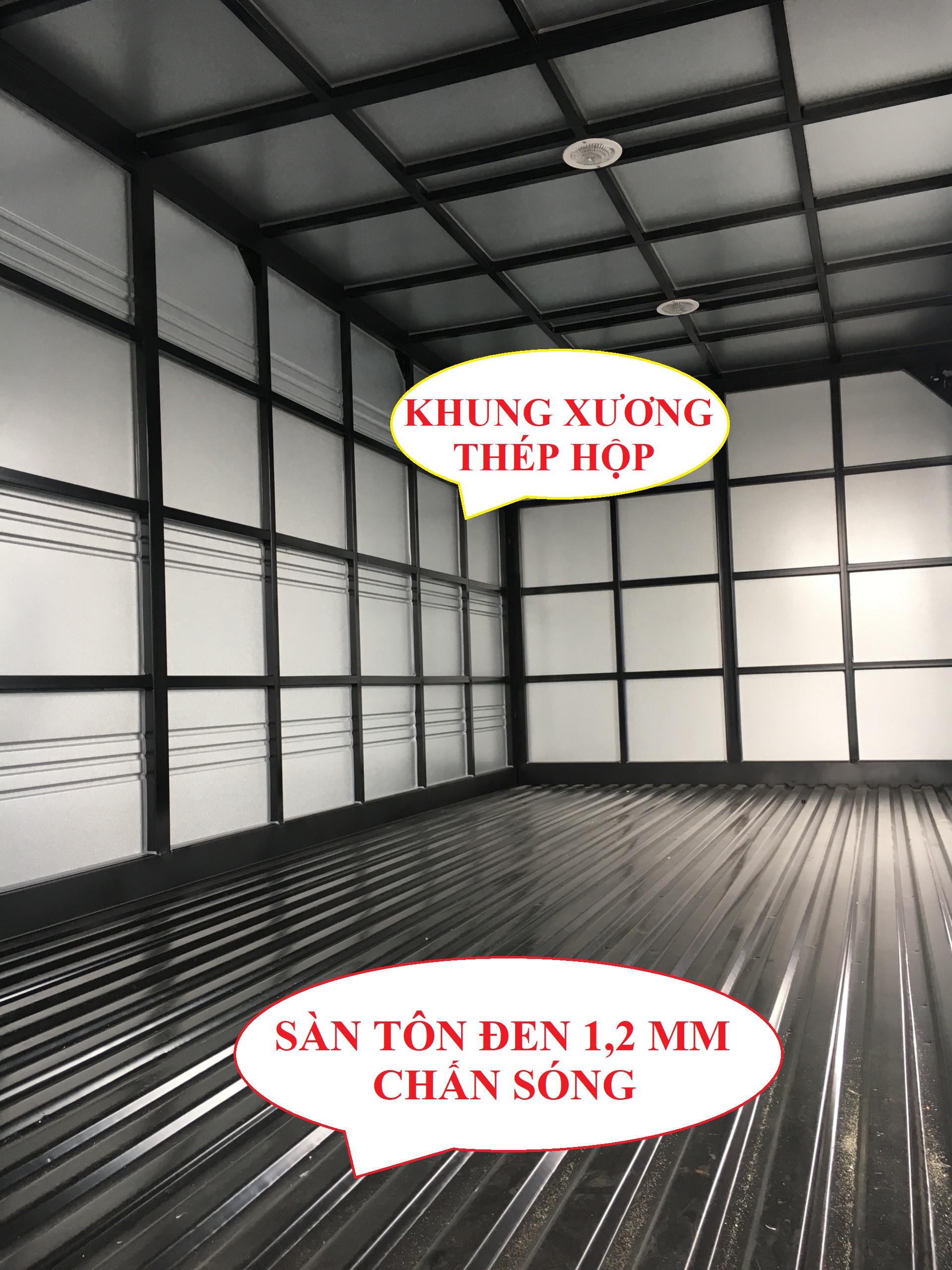 xe tải hyundai 3,5 tấn hd72 thùng kín tôn lạnh 1