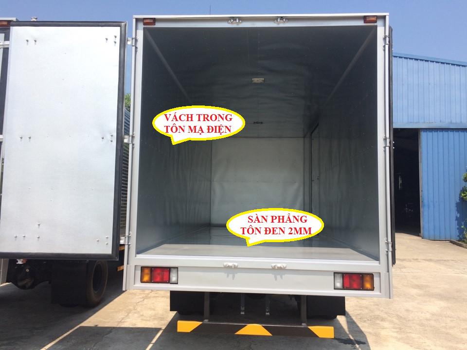 xe tải isuzu 3,5 tấn npr85k thùng kín inox 1