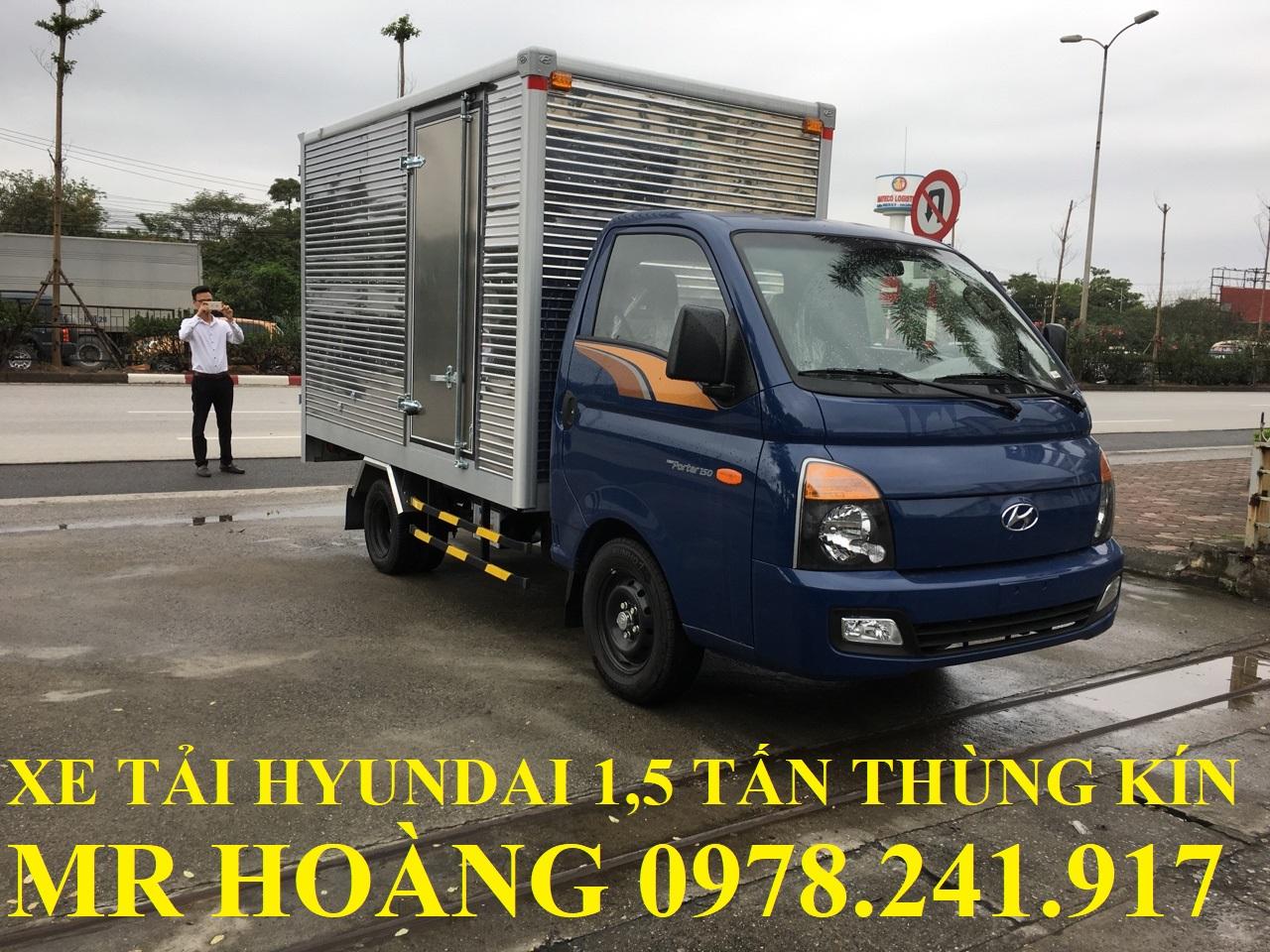 Xe tải HYUNDAI 1,5 tấn 1,25 tấn H150 giá rẻ