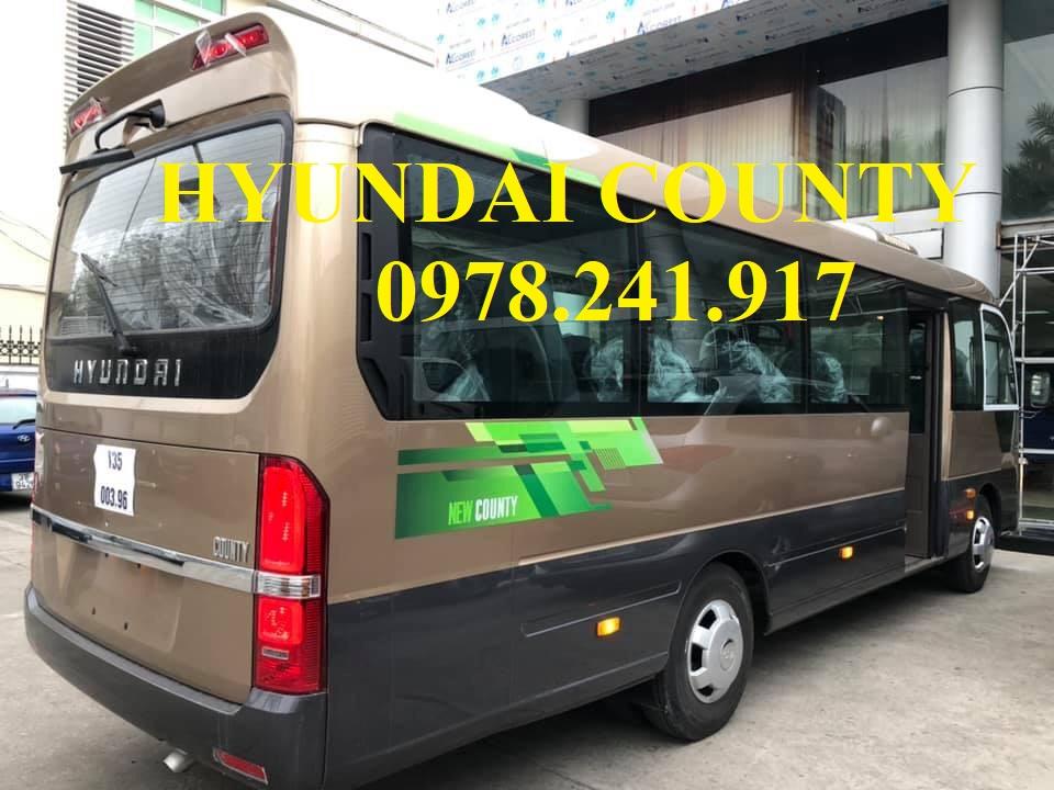 xe khách Hyundai county limousine