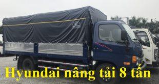 xe tải hyundai nâng tải 8 tấn