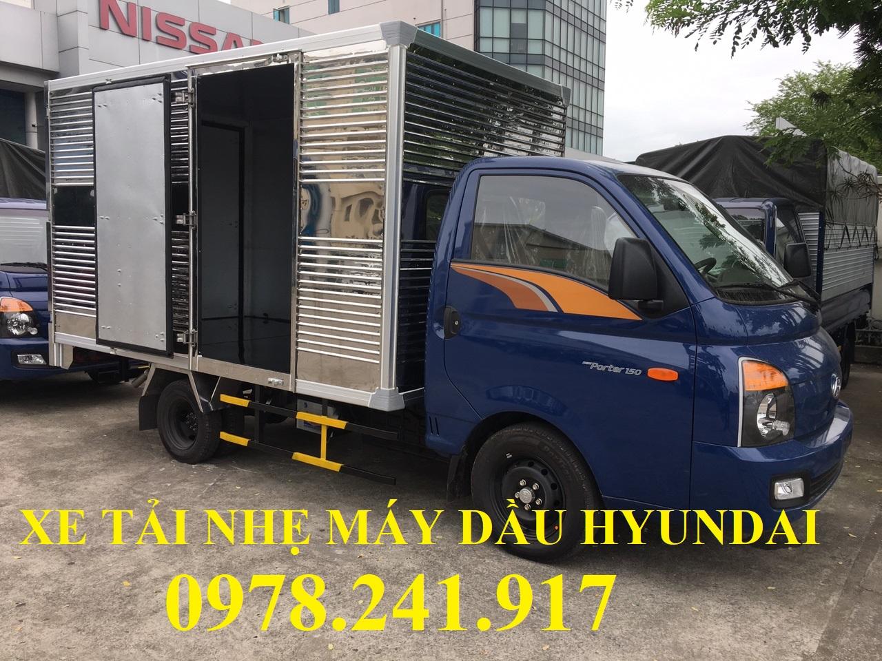 xe tải nhẹ máy dầu hyundai