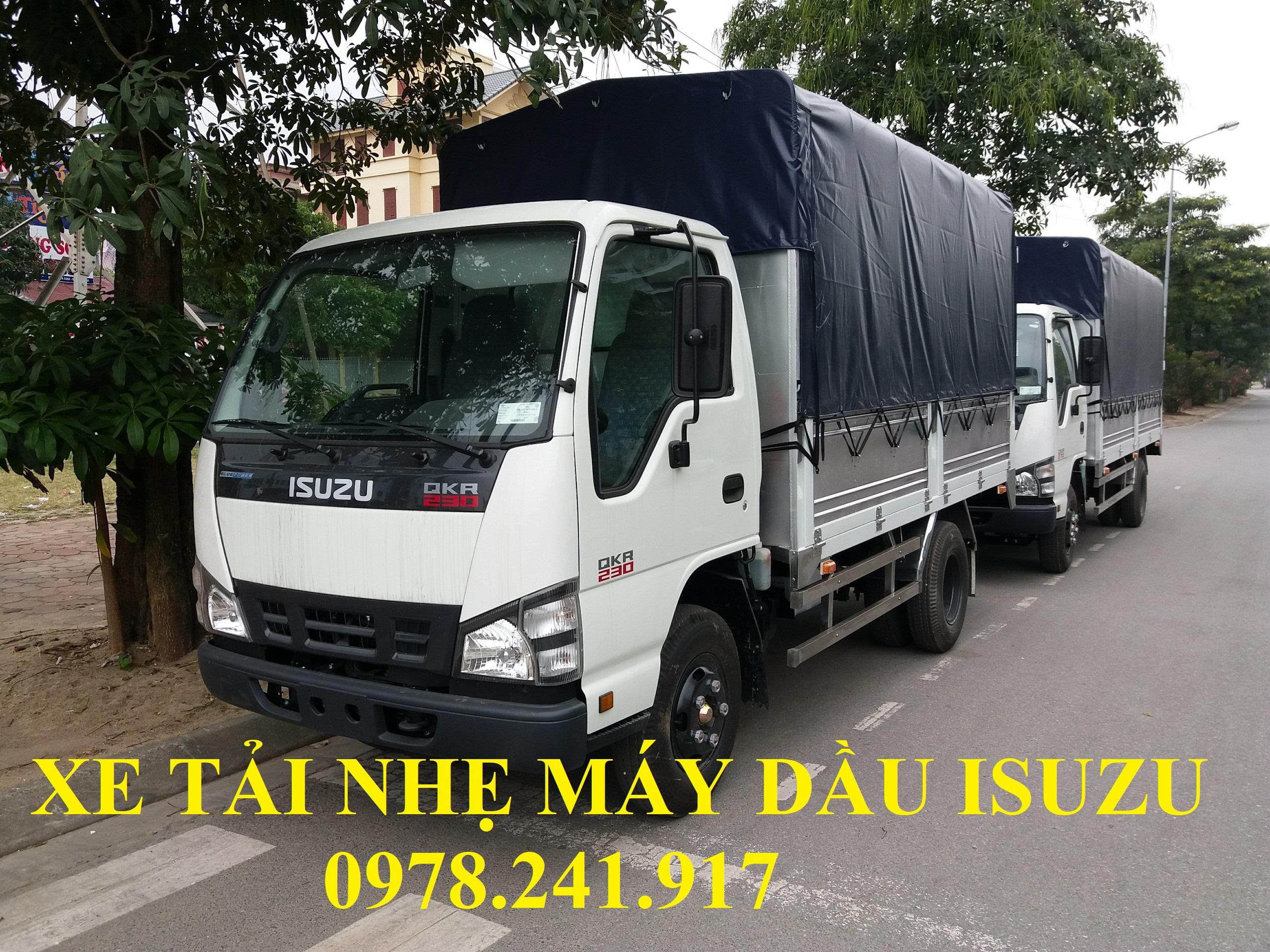 xe tải nhẹ máy dầu isuzu