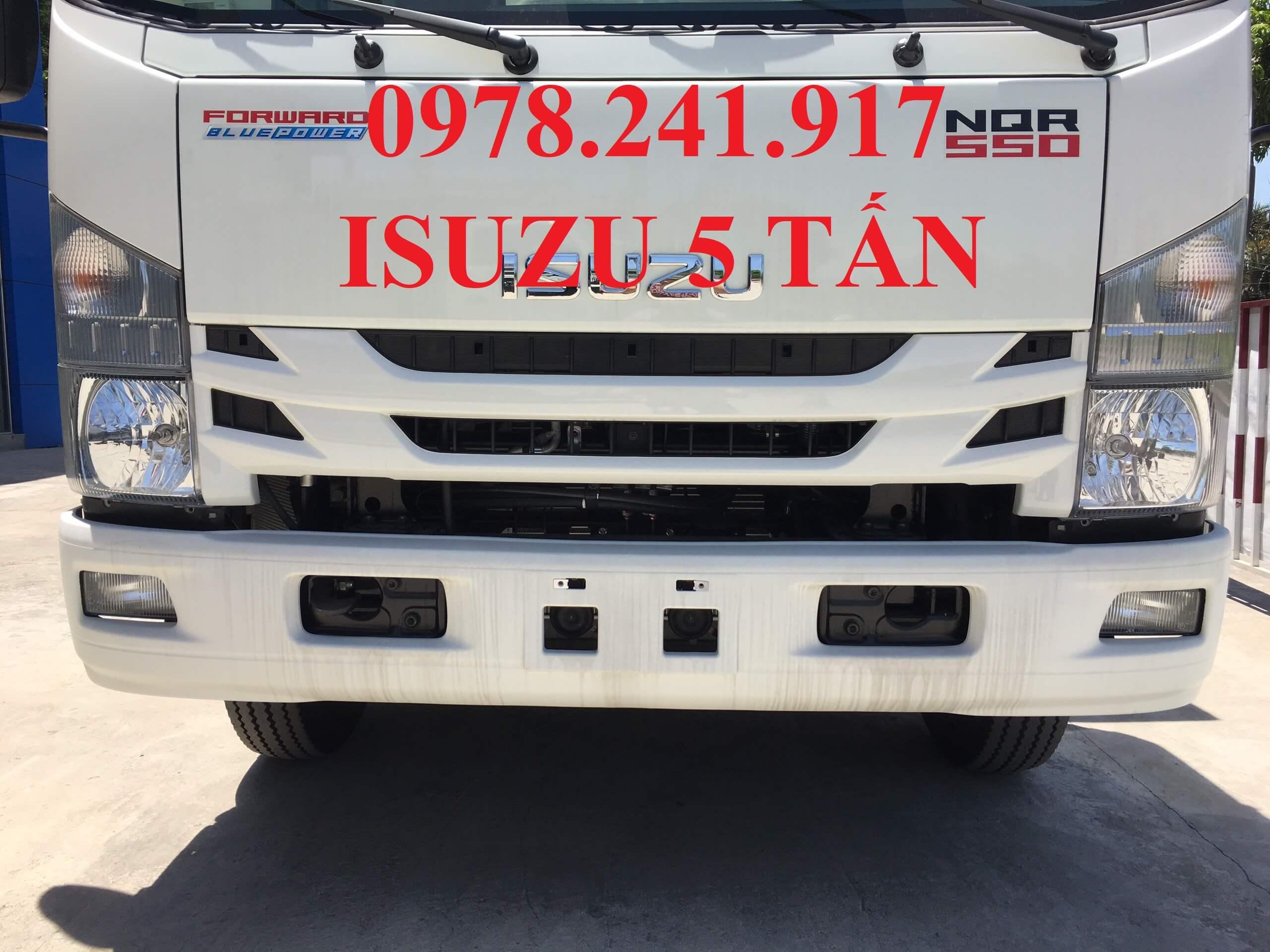xe tải isuzu 5 tấn NQR75M mặt galang