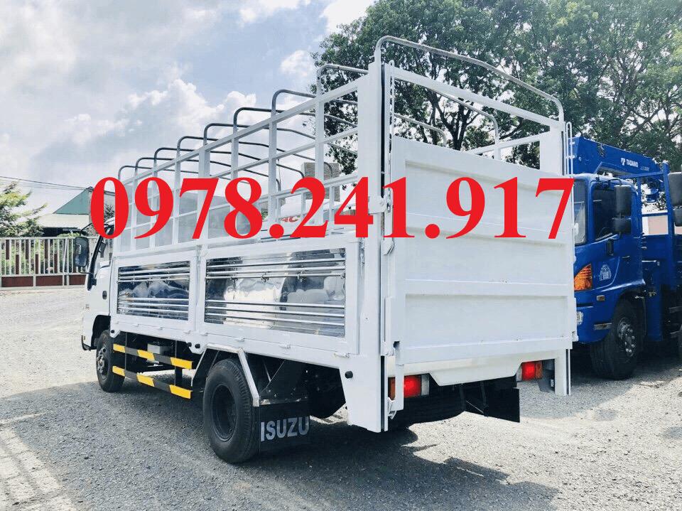 xe tải isuzu qkr77h 2t9 thùng mui bạt bửng nâng