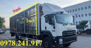 xe tải isuzu 8 tấn chở cấu kiện điện tử pallet